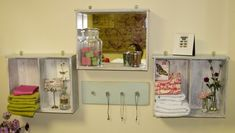 20 Diy Ideas How to Reuse Old Drawers. mNote-use as shelves when redo dresser for crafts