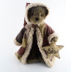 Boyds Bear Patches - Boyds Bears Of The Month Limited Edition - Plush - Retired