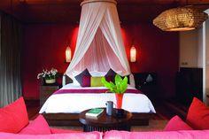 KOH PHA NGAN | A bedroom at Anantara Rasananda Koh Phangnan hotel, Thailand | via cntraveller.com