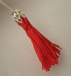A Matter Of Style: DIY Fashion: Mini tassels earrings DIY Tutorial