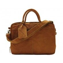 Cowboysbag Laptoptas Fairbanks Camel