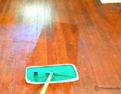 Make Dull Wood Floors Shine