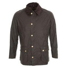 jacket ashby olive waxed mwx0339