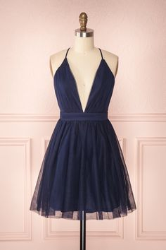A Line V Neck Navy Blue Short Prom Dresses, Navy Blue Homecoming Dresses Customized service and Rush order are available. A Line V Neck Navy Blue Short Prom Dresses, Navy Blue Homecoming Dresses Tulle Prom Dress, Prom Dresses Blue, Little Dresses, Mini Dresses, Wedding Dresses, Navy Blue Homecoming Dress, Navy Blue Short Dress, Blue Lace, Elegant Dresses