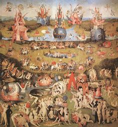 Any given day ...: The Garden of Earthly Delights by Bosh Part 1