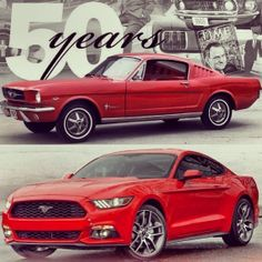 Celebrating Mustang's 50th anniversary!