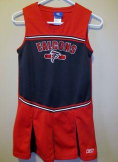 Reebok Atlanta Falcons Cheerleader outfit , Girls size 14