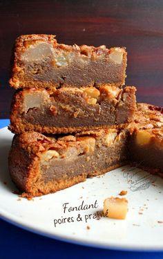 Recette de gâteau fondant poires et praliné, rapide et facile !