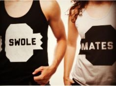 Swole-Mates #fitness - I need a workout partner so I can get these shirts