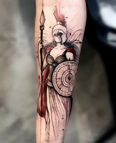 Gorgeous Athena Tattoo