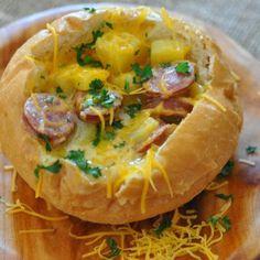 Sausage Potato Cheddar Cheese Stew Recipe - Key Ingredient