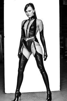 Malin Akerman as Laurie Jupiter/Silk Spectre II in Watchmen.