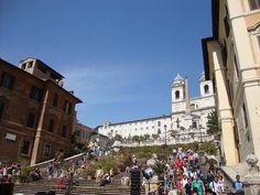 56, Spanish Steps, fr Piazza di Spagna, Rome, 13.05.12, via Flickr.