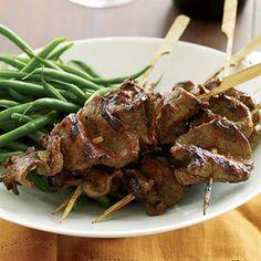 Grilled Beef Tenderloin Skewers