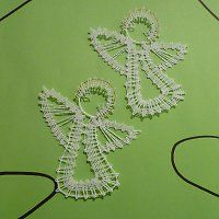 Bobbin Lace Patterns, Crochet Patterns, Hippie Crafts, Bruges Lace, Types Of Lace, Lace Art, Crochet Christmas Trees, Lacemaking, Point Lace