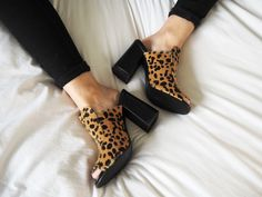 4th & Reckless leopard print mules