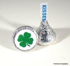 Irish Shamrock St. Patrick's Day Hershey by PrettyPaperCottage