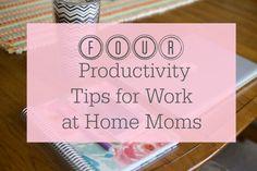 4 Productivity Tips