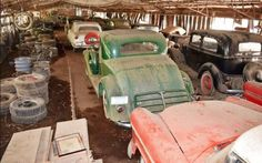 60 Classics Found In Georgia Barn! #Auctions  - https://barnfinds.com/60-classics-found-georgia-barn/