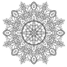 Adults Coloring Book Mandala Stress Relief Patterns Designs Color Relax Shapes