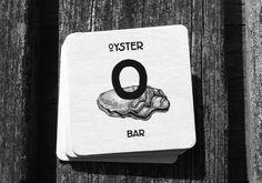 Oyster Bar by Sergey Kosenko, via Behance