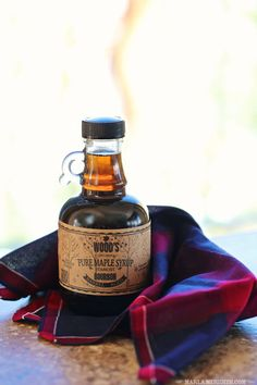 Bourbon Maple Syrup | FamilyFreshCooking.com