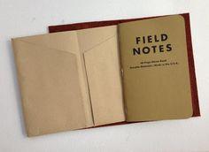 Easy DIY Midori kraft file - passport and Field Notes edition