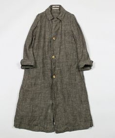 45R Lady's / linen tweed coat (Balmacaan) - ZOZOTOWN