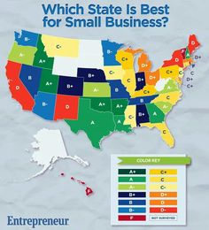 Starting a business in each state 2014