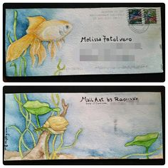 Mail art by Rosecake of ATC'S For All.