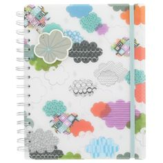 clouds A5 notebook