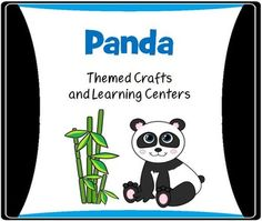 Cute Panda Crafts plus lots of classroom themed Panda printables!  This is a fun Panda packet for Pre-K and Kindergarten.