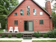 Wisconsin Dells Vacation Cabin Rental, Per Night $225   $275. 3 Bedrooms +  Loft   2 Full Baths   (Sleeps 6 10) | Vacation Houses!