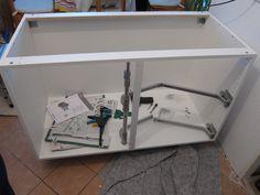 IKEA Faktum Eckunterschrank mit neuem, stärkerem Rondell