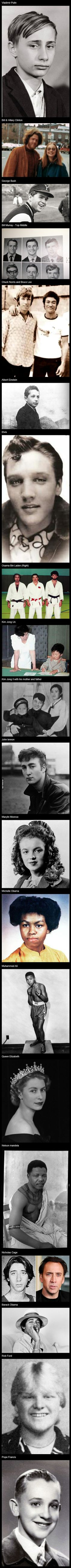 List of 20 #Famous #People When They Were #Young #repin