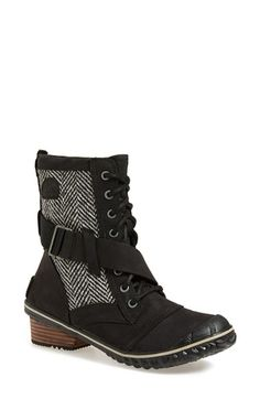SOREL 'Slimboot™' Waterproof Lace-Up Boot (Women) available at #Nordstrom