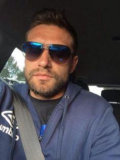 166da2e417 Roger Da Costa wearing POLICE eyewear -