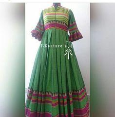 Long Gown Dress, Sari Dress, Frock Dress, Long Dresses, Indian Gown Design, Indian Frocks, Long Dress Design, Kids Dress Wear, Simple Gowns