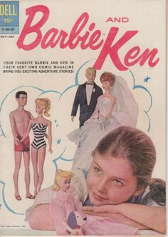 Barbie and Ken 1 1962 Comic First Issue Doll Photo Cover Nice   eBay