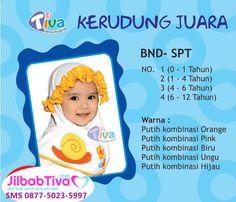 Jilbab anak Tiva BND-SPT