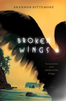 Broken Wings (Angel Eyes Trilogy #2) by Shannon Dittemore