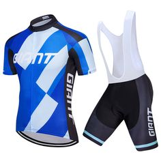 2018 Team Giant Cycling Jerseys White Blue Freestylecycling Com