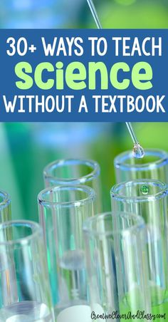 Try hands-on science! Here are 30+ ways to teach science without a textbook.