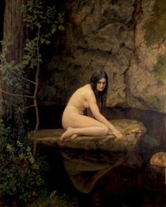 John Collier (1850-1934)  The Water Nymph 1923