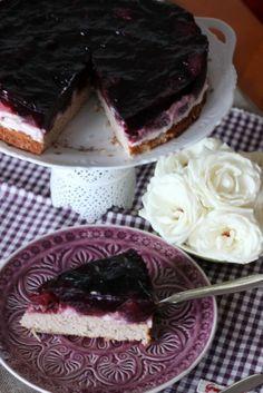 Glutenfreie Buchweizentorte mit Apfel-Holunder Kompott | SASIBELLA