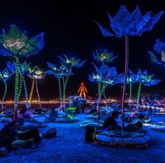 Black Light Room, Desert Festival, Wedding After Party, Romantic Wedding Receptions, Jungle Art, Spring Resort, Neon Party, Parking Design, Pictures To Paint