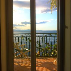 buon giorno! room with a view to die for. amalfi coast, 5.17