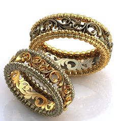 Art Deco Jewelry, Modern Jewelry, Jewelry Rings, Jewelry Design, Rings Cool, Unique Rings, Couple Ring Design, Gold Bangles Design, Jewellery Sketches