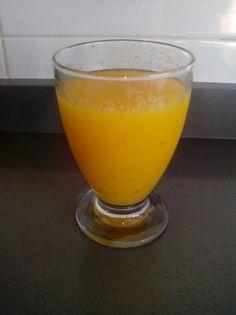 Granizado de naranja y mango con toque de cardamomo para #Mycook http://www.mycook.es/receta/granizado-de-naranja-y-mango-con-toque-de-cardamomo/