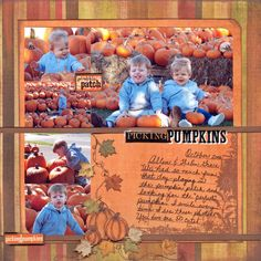 Searchwords: Picking Pumpkins